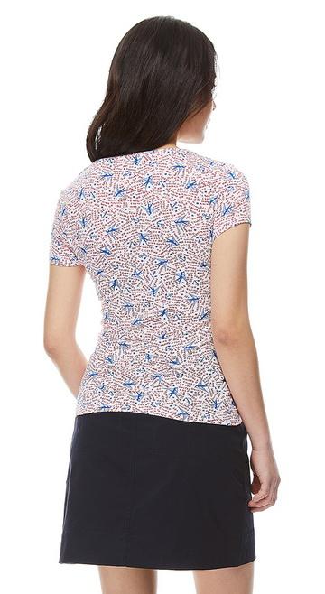 베네통(Benetton) Stretch t-shirt with allover print_3OH8E13B778W