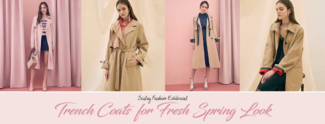 Trench Coats for Fresh Spring Look