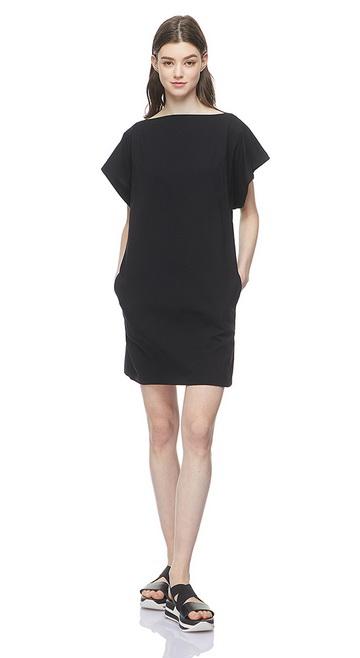 베네통(Benetton) Dolman sleeve mini dress_3BL0V1AE5100
